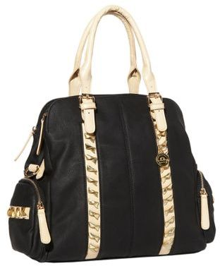 Big Buddha Alexia Colorblock Bowler Bag