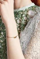 Delfina Delettrez 18kt Yellow Gold Bracelet with Emerald
