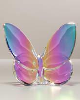 """Baccarat Lucky"""" Butterfly, Irise Iridescent"""