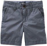 Osh Kosh Boys 4-8 Grey Flat-Front Shorts