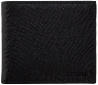 Prada Black Saffiano Leather Wallet