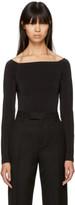 Wolford Black Sheen Light Bodysuit
