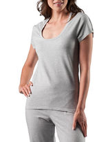 Naked Stretch-Cotton Tee