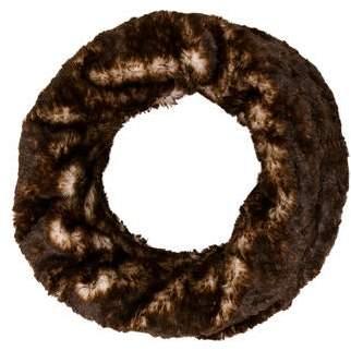 Adrienne Landau Faux Fur Infinity Scarf w/ Tags