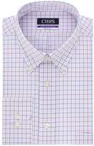 Chaps Men's Regular-Fit Plaid Dress Shirt