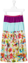Jean Paul Gaultier mini me maxi skirt - kids - Cotton - 8 yrs