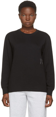 Alexander Wang Black Foundation Long Sleeve T-Shirt