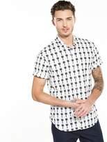 Scotch & Soda Printed Short Sleeve Shirt