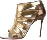 Christian Louboutin Metallic Cage Sandals
