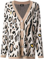 Paul Smith animal pattern cardigan