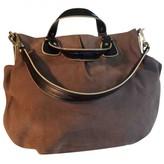 Max Mara Camel Suede Handbags