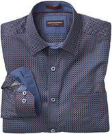 Johnston & Murphy Alternating Squares Print Shirt