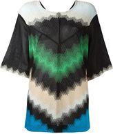 Missoni zig zag pattern T-shirt - women - Polyester/Cupro/Viscose - 42