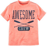 Carter's Neon Awesome Crew Graphic Tee