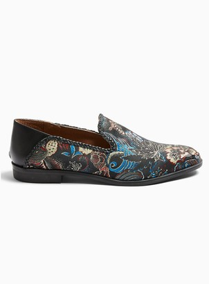 Topman HOUSE OF HOUNDS Satin Swirl Loafers