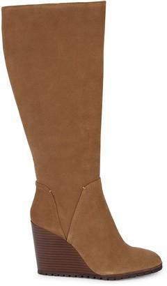 Splendid Patience Suede Knee-High Boots