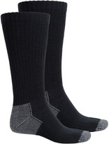 Wrangler Riggs Workwear by Steel Toe Boot Socks - 2-Pack, Mid Calf (For Men)