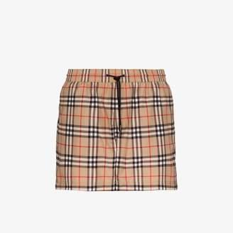 Burberry Grafton Vintage check swim shorts