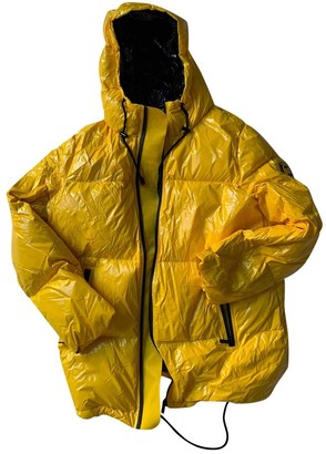 Michael Kors Yellow Coat for Women