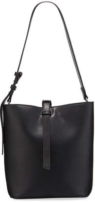 French Connection Georgia Faux-Leather Bucket Bag