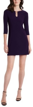MSK Petite Embellished Shift Dress