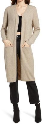 Vero Moda Doffy Open Front Long Cardigan