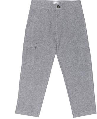 Brunello Cucinelli Kids Cotton-jersey track pants