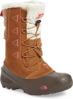 The North Face 'Shellista Lace II' Waterproof Boot (Toddler, Little Kid & Big Kid)
