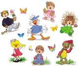 Paper Magic 846840 Eureka, Suzy's Zoo Characters Deco Kit