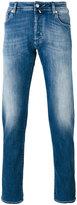 Jacob Cohen faded straight-leg jeans