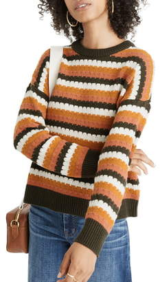 Madewell Beacontree Stripe Pullover Sweater