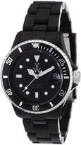 Toy Watch Men's FLS01BK Mini Plasteramic Black Dial and Bracelet Watch