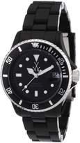 Toy Watch Men's FLS01BK Mini Plasteramic Dial and Bracelet Watch