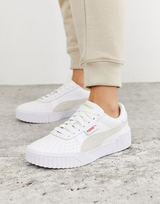 Puma Cali Sun trainers in white