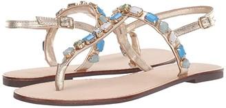 Lilly Pulitzer Raysa Sandal (Gold Metallic) Women's Dress Sandals