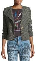 Etoile Isabel Marant Orson Single-Button Tweed Jacket