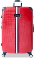 "Tommy Hilfiger Basketweave Hardside 28"" Spinner Suitcase"