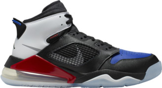 Jordan Mars 270 Basketball Shoes - Black / Reflective Silver Gym Red Game Royal