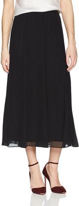 Alex Evenings Women's Panel Tea Length Skirt