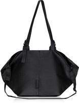 Côte&Ciel Coated Canvas Black Amu Oversized Tote Bag