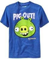 "Old Navy Boys Bad Piggies™ ""Pig Out!"" Tees"