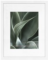 MCS Modern 16x20 Frame Matted for 11x14 Photo White