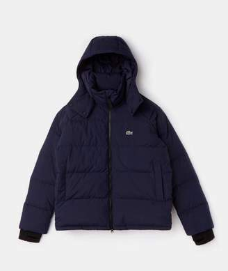Lacoste Marine Short Down Jacket - XL - Blue/Black