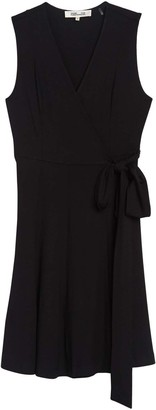 Diane von Furstenberg Jasmine Sleeveless Wrap Midi Dress