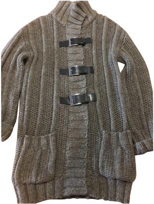 HUGO BOSS Brown Wool Coats