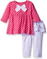 Bon Bebe Girls' 2 Piece Top and Skegging Pant Set