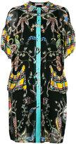 Tsumori Chisato multi-pattern shift dress - women - Polyester/Cupro - S