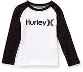 Hurley Little Boys 4-7 One & Only Raglan Tee