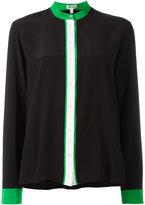 Kenzo colour block blouse - women - Silk - 40
