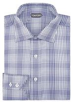 Tom Ford Houndstooth Cotton Shirt